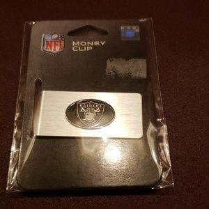 Raiders NFL Money Clip